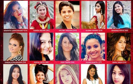 Press release: Miss Nepal US 2014 Top 15 Finalists Announced
