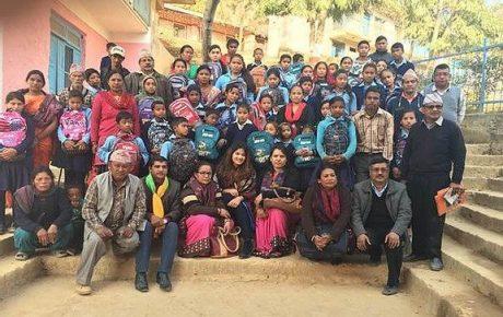 Rebuilding Nepal-Miss Nepal US 2015 Project