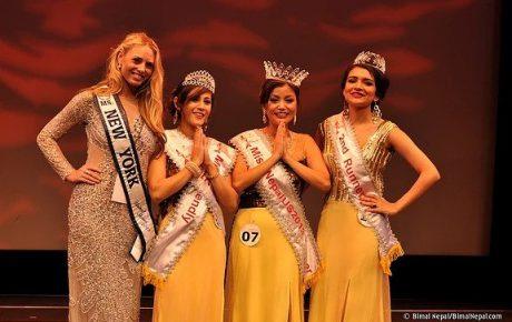Press Release: Miss Nepal US 2013 winner Bartika Rai